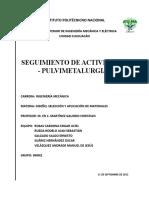Manual parar el desarrollo de metalurgia de polvos