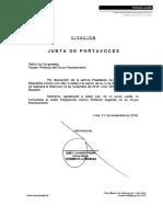 Junta de Portavoces 23.11.2016