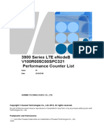 3900 Series LTE ENodeB V100R005C00SPC321 Performance Counter List 06(201...