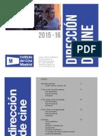 Direccion de Cine-Instituto de Cine de Madrid-Plan de Estudios
