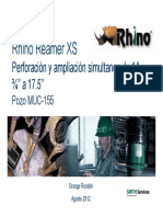 Rhino Reamer XS UWD @ 17
