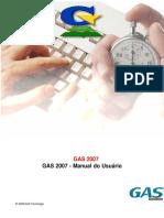 GAS 2007 GAS 2007 - Manual Do Usuário