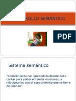 desarrollo semantico