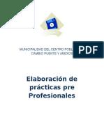 Informe de Practicas Pre Profesionales 2016