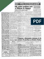 """""""La guerrilla, primer problema serio para el gobierno de Cámpora"""", La Vanguardia, 1973"""
