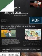 economic injustice presentation