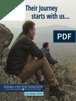 Sigma Chi Foundation - 2016 Annual Report