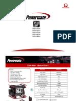 Powermate Wx Catalogo 60hz