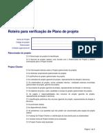 Roteiro Verificacao Plano Projeto