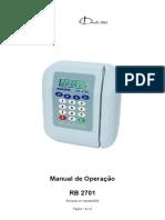 Manual RB 2701 v3.0