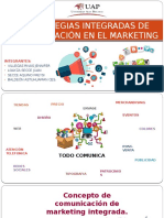 Estrategias Integradas de Comunicación en El Marketing