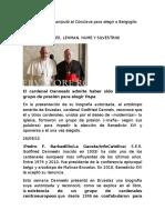 Card Danneels Manipuló El Cónclave Para Elegir a Bergoglio