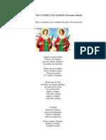 Ofício de São Cosme e São Damião