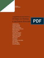 Cuaderno_discusion_21 Unipe El Docente Como Servidor Social Sacristan