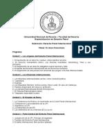UNR - EDP - Programa Seminario Finocchiaro