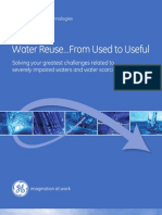 GE Water Program With the U.S.