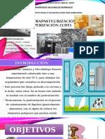 La Ultrapasteurización o Uperización (Uht)