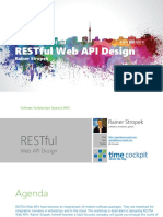 RESTful Web API Design
