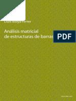 Analisis Matricial de Estructuras de Barras