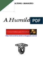 Mons Ascanio Brandao_A Humildade