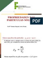 Propriedades Das Partículas Sólidas