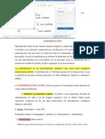 La Subordinación Latina