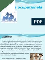 Terapie ocupationala