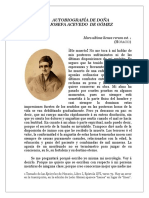 Autobiografía - Josefa Acevedo
