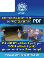 Protection & Counter Terrorism Instructor
