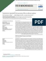 Tratamientos reparadores de la proteína CFTR en la fibrosis quística