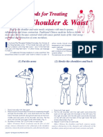 Patting Methods for Treating Painful Shoulders & Waist