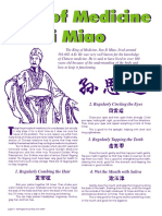 Health Methods of Sun Si Miao (Chikung)
