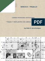 Tecnicas y Metodos Trazo en Una Edificacion o Abre