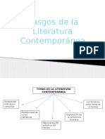 Rasgos de la Lit Contemporánea.pptx