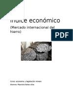 Índice Económico Mercado Del Hierro (1)