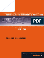 5618980000 Terminals for Initiators Actuators