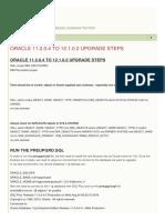 Gagan Virk Oracle 11.2.0.4 to 12.1.0.2 Upgrade Ste