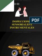 Curso Diagnostico Maquinaria Pesada Inspecciones Sensoriales Instrumentales Sistemas Causas Hipotesis Validez