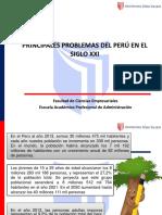6 Principales Problemas Del Peru