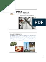 Materiales de ingeniería - Aceros y otros metales