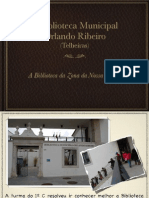 Biblioteca de Telheiras - Orlando Ribeiro
