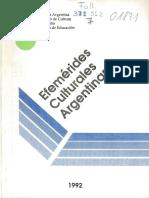 Efemerides Culturales Argentinas