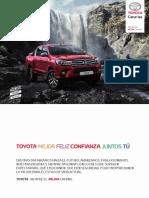 Catalogo Toyota Hilux