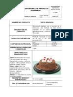 Ficha Tecnica Torta Genovesa