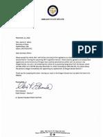 Edwards resignation letter