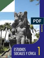 Estudios Sociales 1 El Salvador Primero Bachillerato 0
