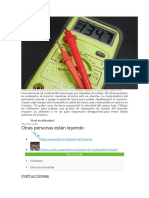 Utiliza un voltímetro para probar los inyectores.docx