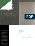 Sociologia e Administração Reinaldo Dias 4º Edição
