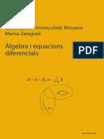 Algebra i Equacions Diferencials