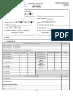 Cédula de Diagnóstico Al Componente de Escuela y Salud